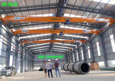 Kiểm định cầu trục 3 tấn và 5 tấn tại Đình Vũ Hải Phòng