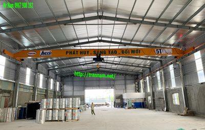 Cầu trục đơn 5 tấn chất lượng tại Vĩnh Phúc