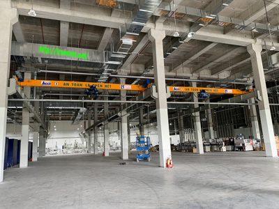 Cầu trục đơn 2 tấn tại Hòa Lạc Hà Nội