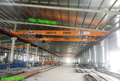 Cầu trục 5 tấn và 7,5 tấn tại Hưng Yên