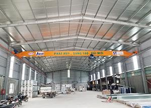 Lắp cầu trục treo tại Nam Định