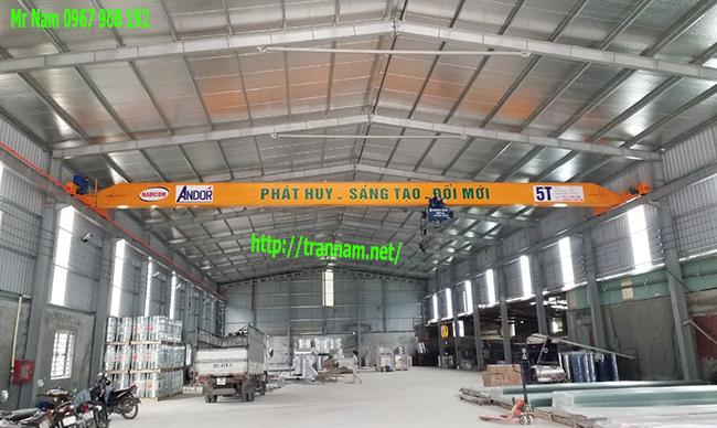 Chế tạo cầu trục 5 tấn tại Nam Định