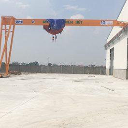 Bán cổng trục dầm đơn 7,5 tấn