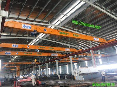 Cầu trục 5 tấn, 10 tấn tại Thái Bình
