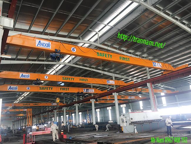 Cung cấp cầu trục chất lượng tại Thái Bình
