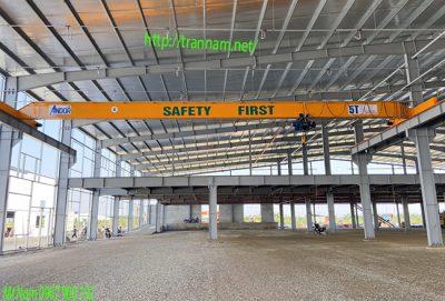 Cung cấp cầu trục 5 tấn chất lượng tại Thái Bình