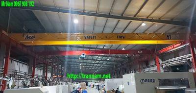 Lắp cầu trục 5 tấn tại KCN Phúc Khánh - Thái Bình
