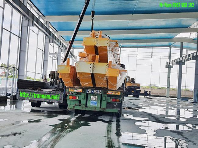 Vận chuyển cầu trục 10 tấn