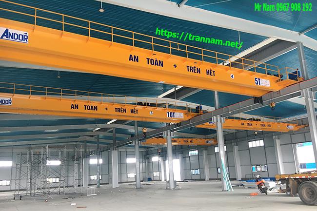 Chế tạo cầu trục 10 tấn tại Tuyên Quang