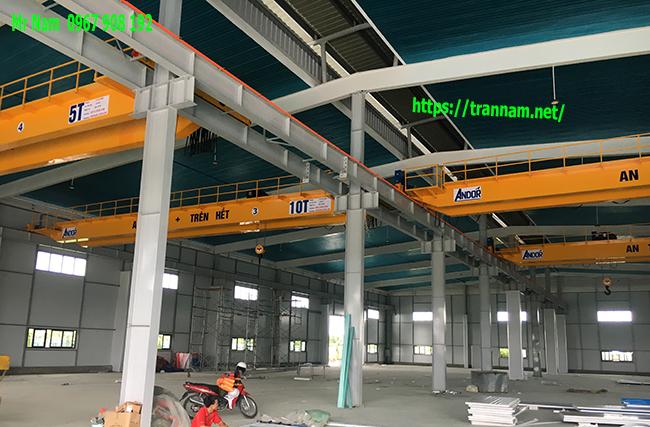 Chế tạo cầu trục tại Tuyên Quang