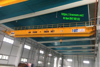 Lắp đặt cầu trục dầm đôi 10 tấn tại Tuyên Quang