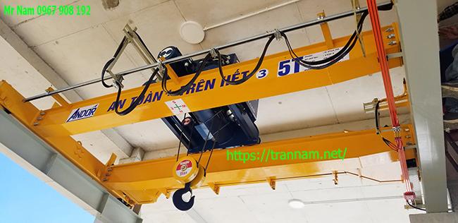 Cung cấp cầu trục 5 tấn dầm đôi tại Nam Định