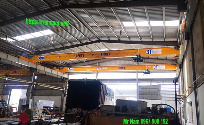Chế tạo và lắp đặt cầu trục 3 tấn