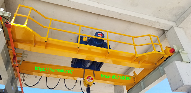 Chế tạo cầu trục dầm đôi tại Nam Định