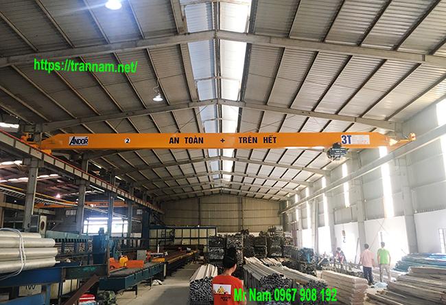 Cầu trục dầm đơn 3 tấn chất lượng