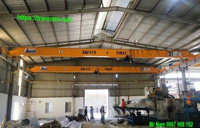 Cung cấp cầu trục 3 tấn tại Mỹ Hào Hưng Yên