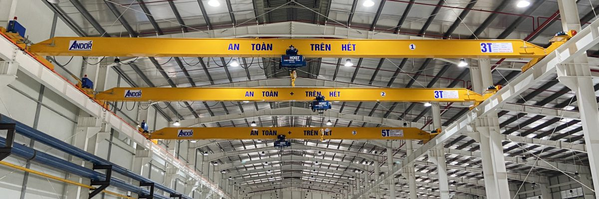 Cung cấp cầu trục 3 tấn và 5 tấn
