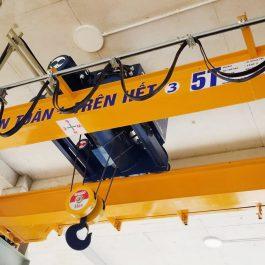 03 bộ cầu trục dầm đôi 5 tấn tại Quỳ Hợp – Nghệ An