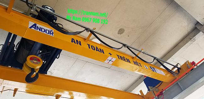 Lắp cầu trục uy tín tại Nghệ An