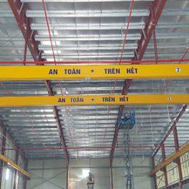 Cung cấp cầu trục 1 tấn và 3 tấn tại KCN Lai Vu – Hải Dương